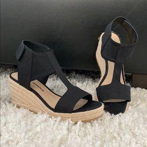 New Moda Spana Kara Espadrille Wedges sandals